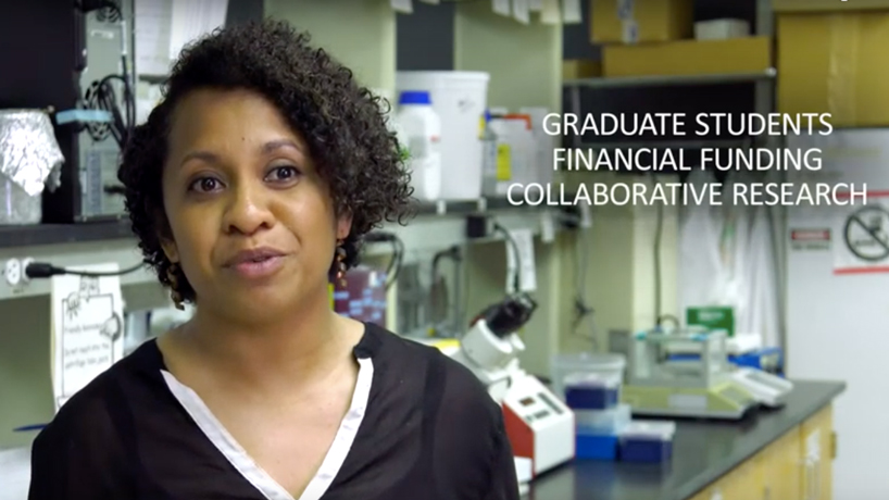 New recruitment video features testimonials from students on Harris Center's impact