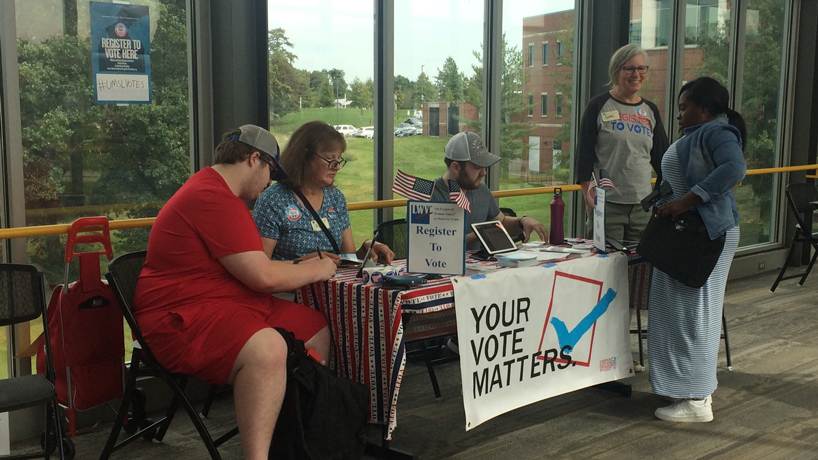 UMSL earns recognition again on Washington Monthly's list of 'Best Colleges for Student Voting'