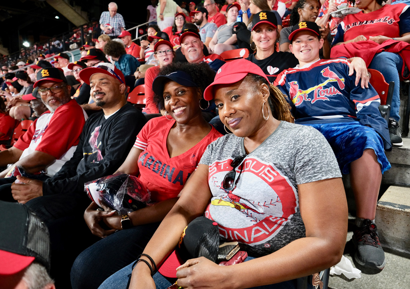 UMSL Night at the Ballpark crowd