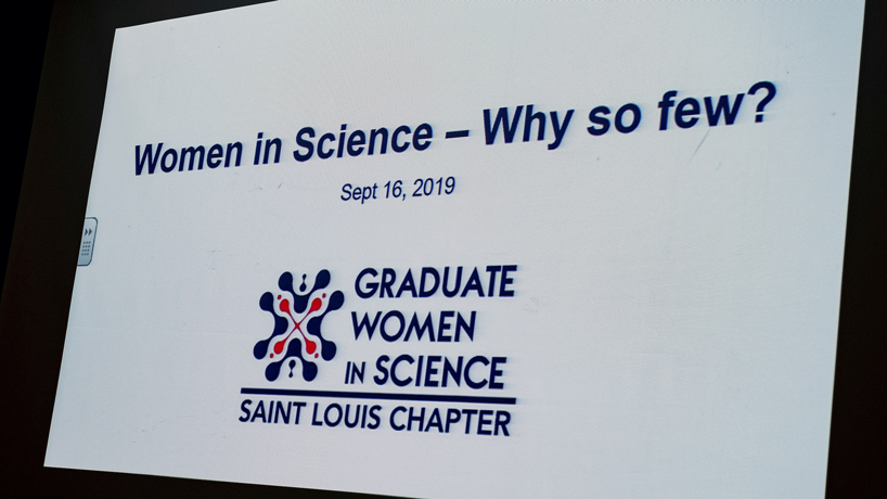 St. Louis Chapter of Graduate Women in Science hosts presentation on gender bias in STEM