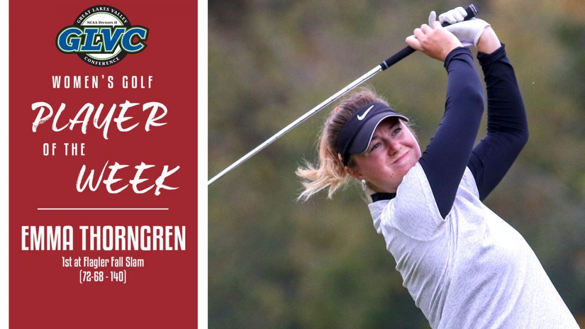 GLVC Player of the Week Emma Thorngren