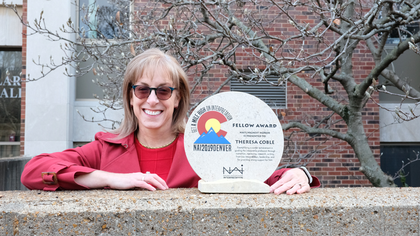 National Association for Interpretation honors Theresa Coble with 2019 Fellow Award