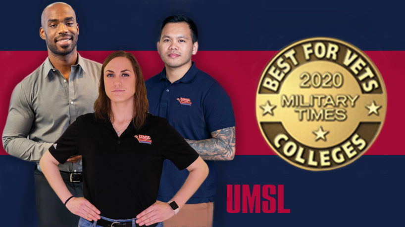 UMSL chosen one of Military Times' 'Best for Vets' colleges for the sixth straight year