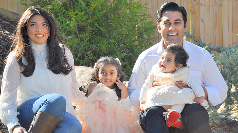 UMSL alumna Ameena Zia now lives on the East Coast with her daughters, 3-year-old Lana and 11-year-old Eva, and husband Dr. Yaseen Zia. (Photos UMSL alumna Ameena Zia now lives on the East Coast with her daughters, 3-year-old Lana and 11-year-old Eva, and husband Dr. Yaseen Zia. Zia earned her political science PhD from UMSL in May. (Photos courtesy of Ameena Zia) of Ameena Zia)