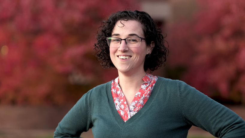 Economics grad student advocates for families with the power of math