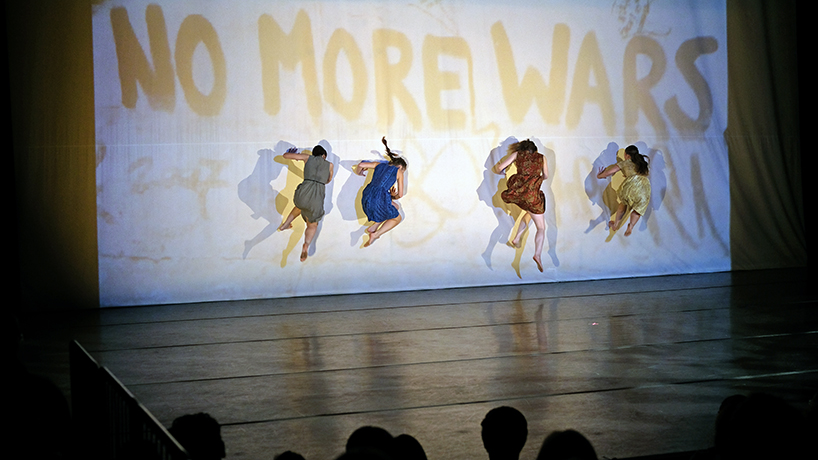 Exhibition and MADCO production bring the fall of the Berlin wall to life for UMSL, community