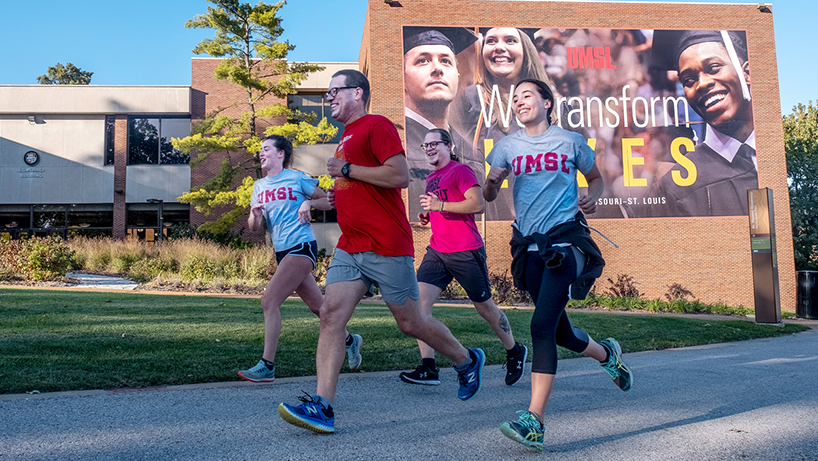 Eye on UMSL: In stride