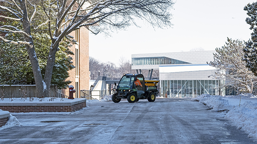 Eye on UMSL: Open skies, clear grounds