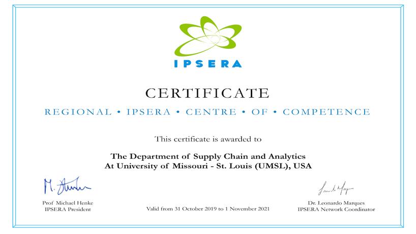 Regional IPSERA Centre of Competence