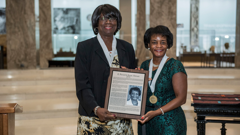 Professor E. Paulette Isaac-Savage inducted into The International Adult and Continuing Education Hall of Fame
