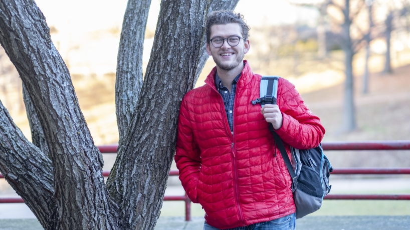 December graduate Jacob Beers leaves environmental impact on UMSL campus