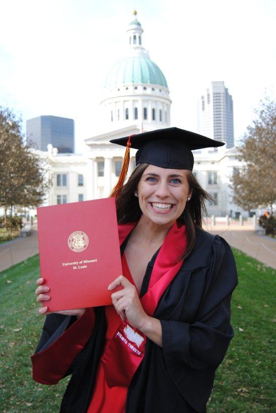 Madsy Richards, supply chain management graduate