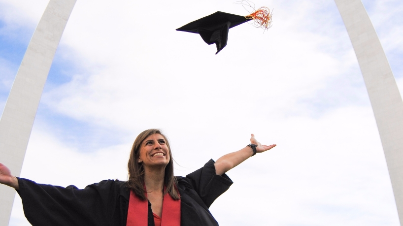 Madsy Richards, supply chain management graduate
