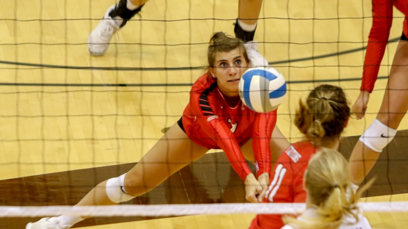 Madsy Richards, UMSL Tritons defensive specialist