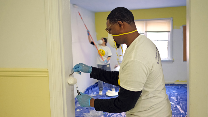 UMSL volunteers make their mark around the region on MLK Day of Service