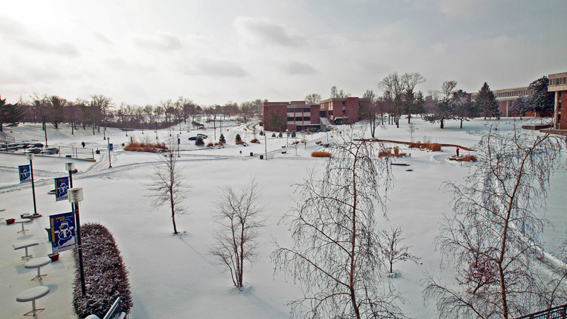 Eye on UMSL: Frozen in time