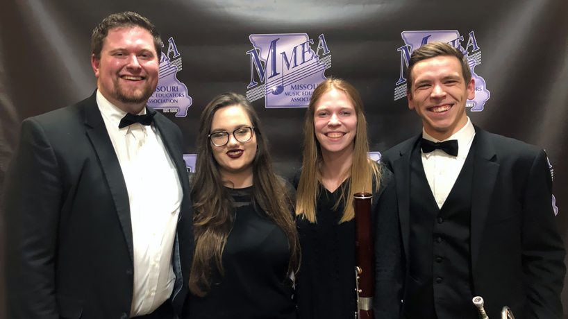 UMSL students perform with all-collegiate concert band at MMEA annual conference