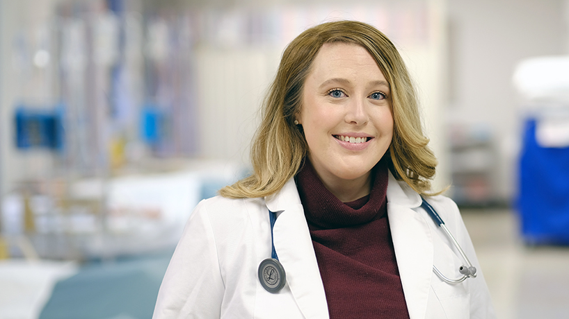 College of Nursing alumna Kelly Lucash investigated pediatric fluoride applications for her DNP clinical scholarship project. (Photo by August Jennewein)