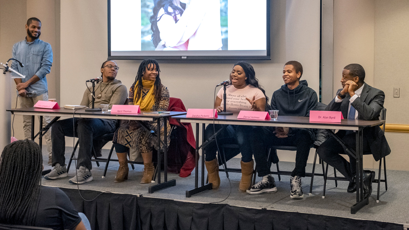 Panelists discuss relationship challenges, dole out advice at 'Black Love' event