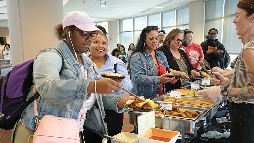 Eye on UMSL: Feeding the soul