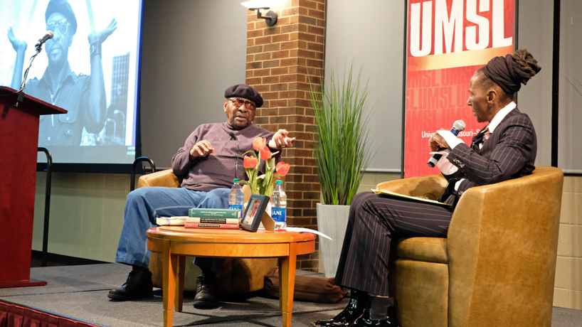 Percy Green talks civil rights, protesting during annual 'Black in St. Louis' event