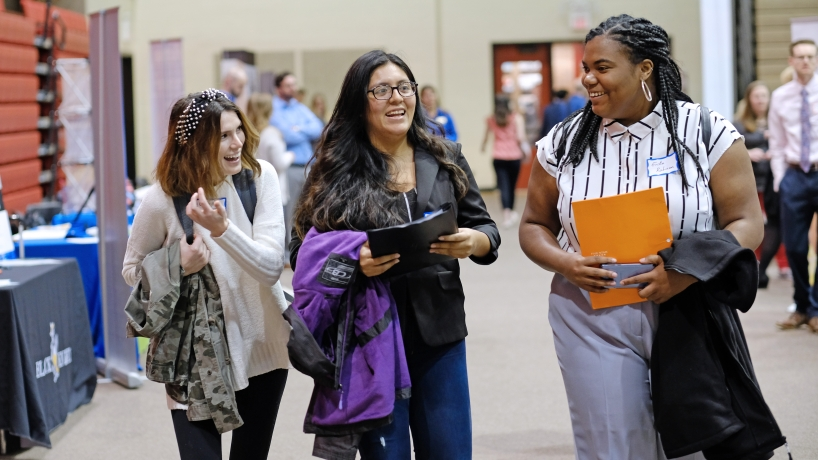 Spring Career Fair connects students with potential employers