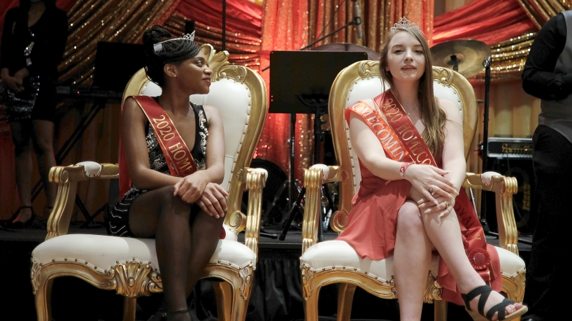 Sammy Jacobs, Jasmin Williams crowned homecoming royalty