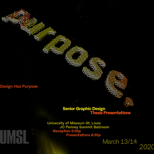 Design Has A Purpose Flyer