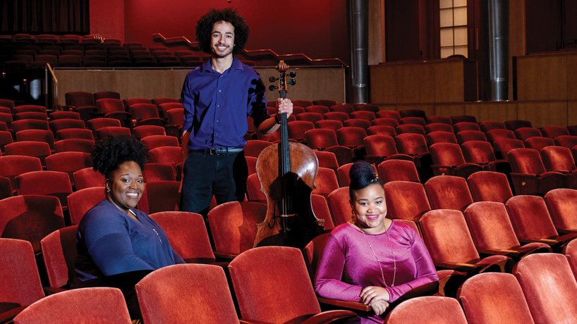 IN UNISON Scholars program helps students find their way in the world of music