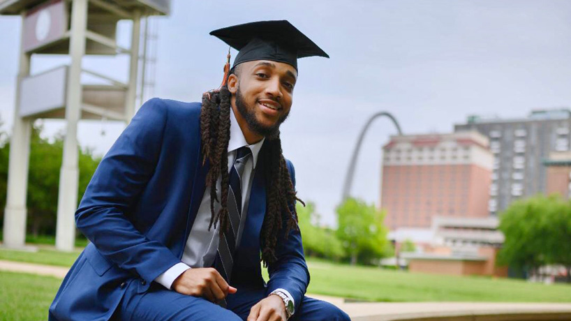 Terran Hill bound for prestigious law school after earning degree in economics