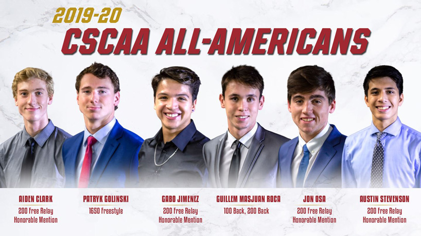 Swimming All-Americans