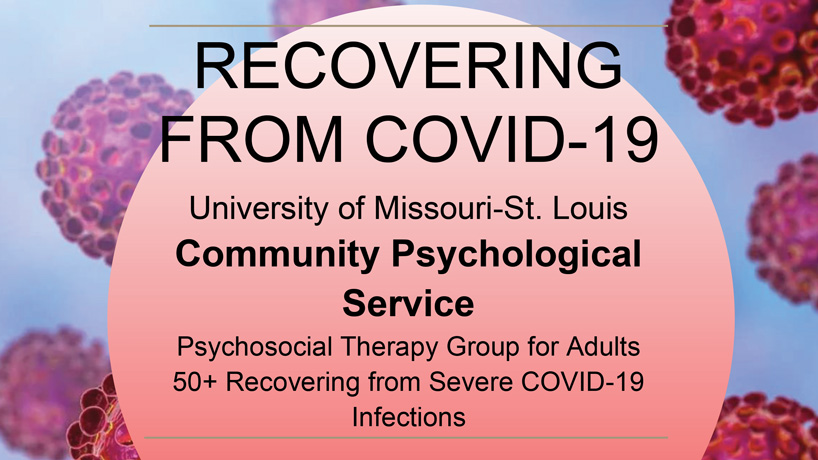 Community Psychological Service launching new psychosocial rehabilitation group for adults recovering from COVID-19