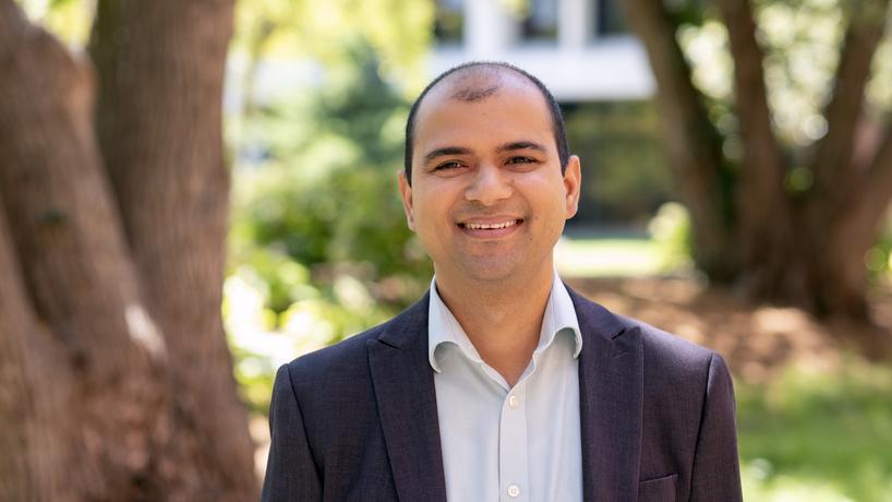 Badri Adhikari, recipient of National Science Foundation grant