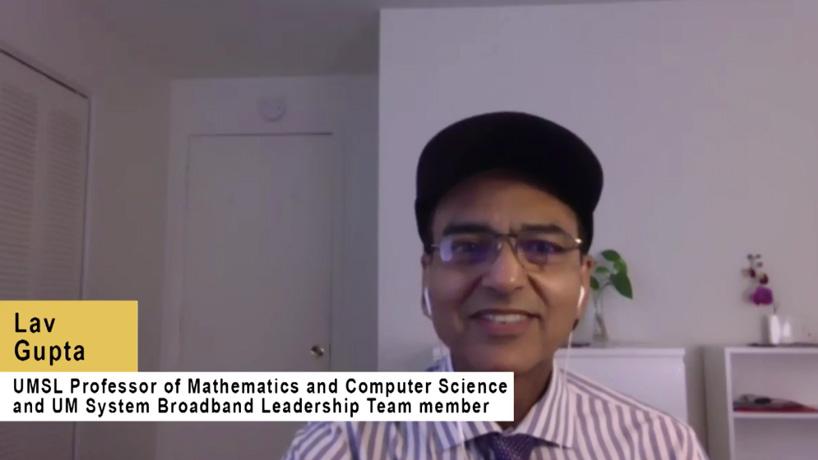 Lav Gupta among UM System researchers working to improve broadband access in rural Missouri