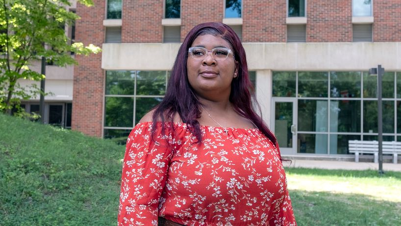 Harris Center scholarship brings Chyna Freeman a step closer to medical school