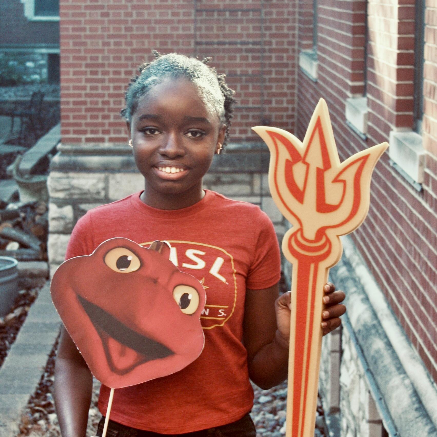 Divine Akinjiyan, orientation leader