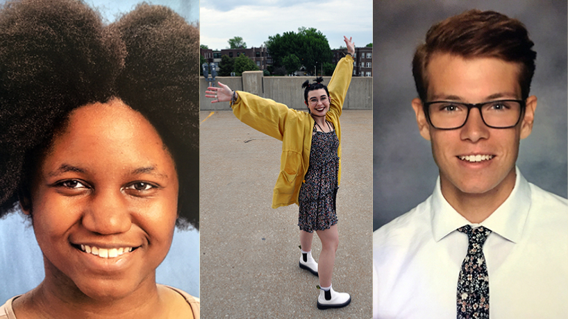 Meet the first-year students: Jennifer Nwaobasi, Louie Westland and Benjamin VandenBrink