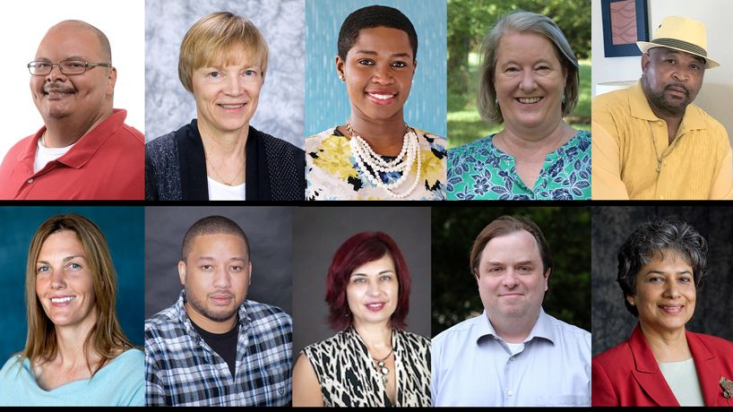 2020 Chancellor's Award recipients