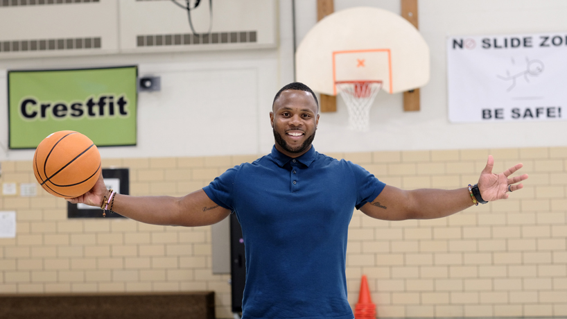 State Teacher of the Year Darrion Cockrell makes fitness fun for everyone