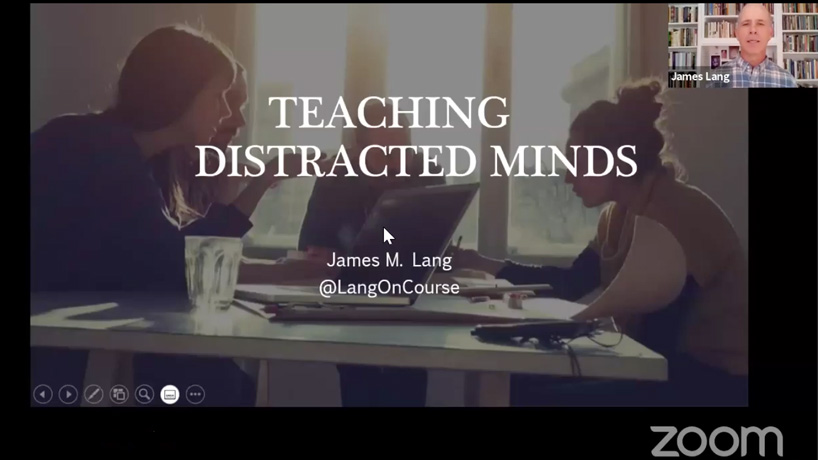 Teaching Distracted Minds