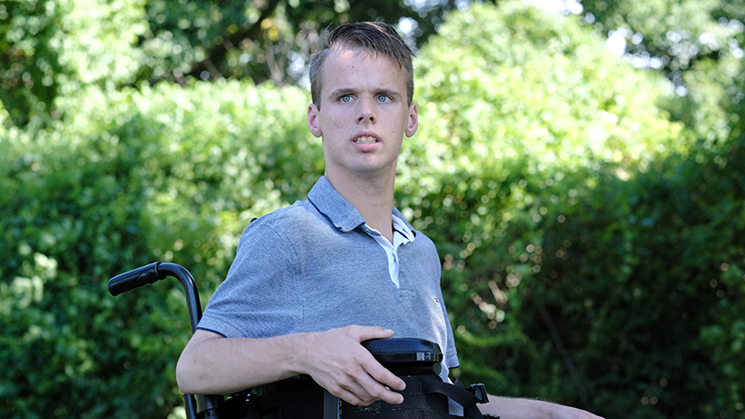 'The possibilities are endless': A Q&A with Andrew Simmons, political science student and disability advocate