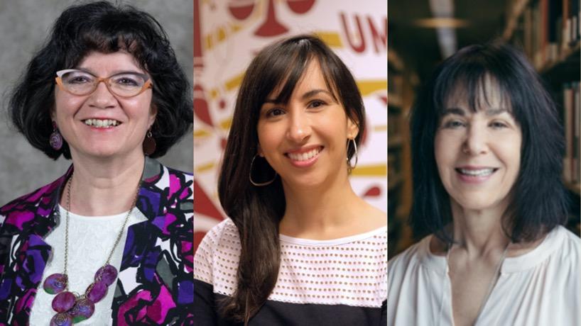 Maria Mora, Luimil Negrón, Deborah Cohen