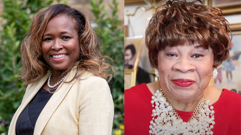 UMSL alumni Sharonica Hardin-Bartley and Doris Graham honored for excellence in education