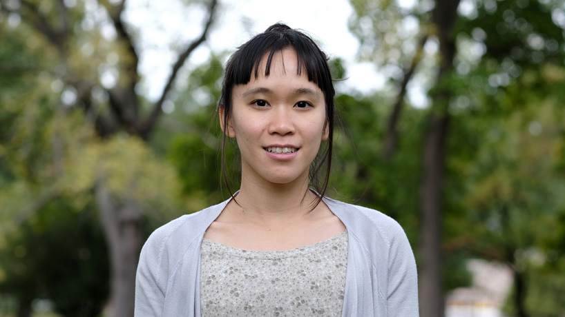 Amanda Wu wins national Graduate Women in Science Fellowship to support research on rare oaks