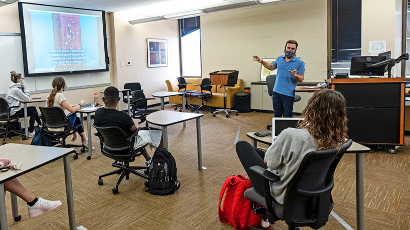 Eye on UMSL: In-person learning