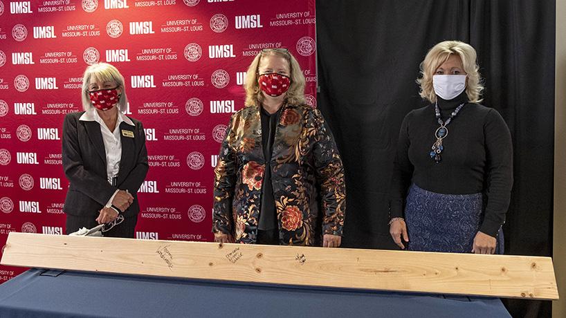 UMSL kicks off construction on $7 million Nursing Learning Resource and Simulation Center expansion, renovation