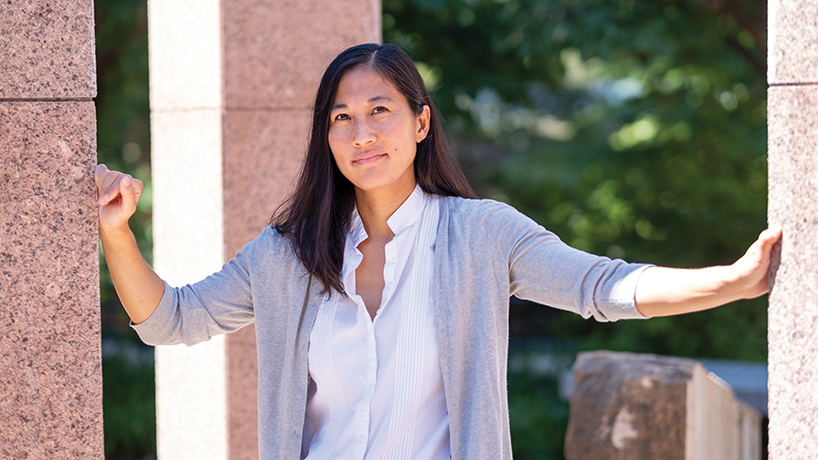 Assistant Professor Marisa Omori examines racial inequality in criminal justice system
