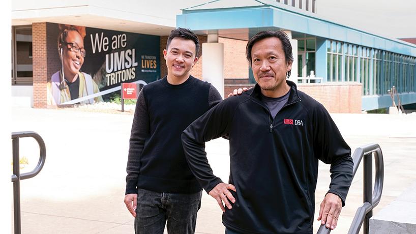 Jo and Kei Pang, DBA students