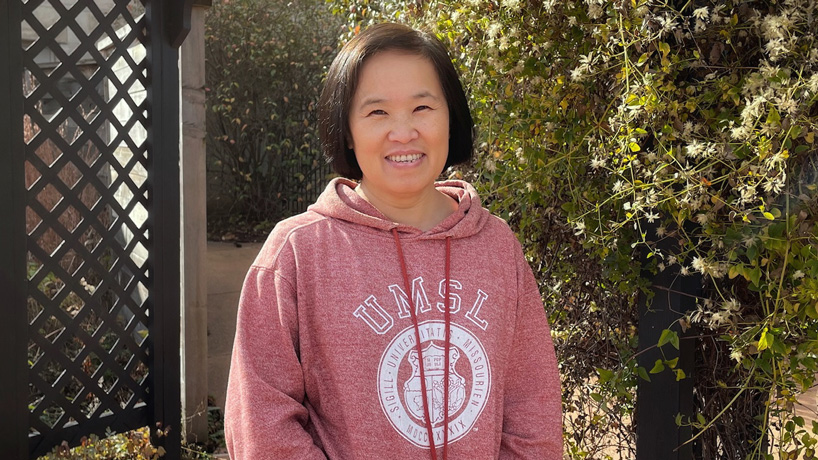 Qiang Dotzel honored with Emerson Excellence in Teaching Award