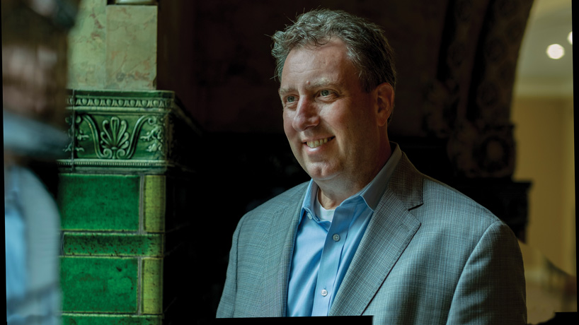 New glory for Union Station: Alumnus Steve O'Loughlin helps transform the once-dead mall and sees it through the pandemic
